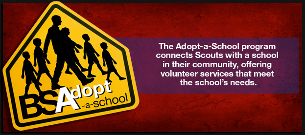 bsa adopt a school