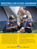 Selecting Cub Scout Leadership