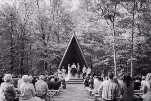 Kristin & Garritt - a Mt. Gretna & Camp Mack, Newmanstown PA Wedding | Modern, Boy Scout Camp, Bonfire, Wes Anderson Themed | http://brittneyraine.com