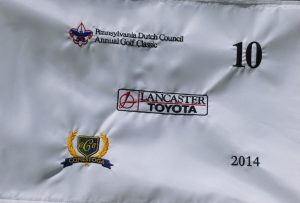 2014 Golf Classic Hole Flag
