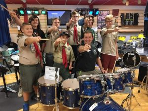 Scout Drumming Night