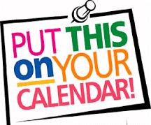 Make your calendar