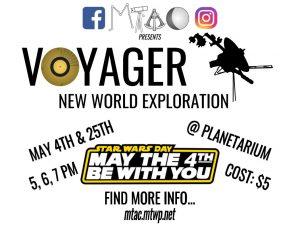 Voyager Show Flier Landscape