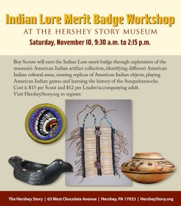 Indian Lore Merit Badge Day