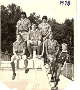 1978 Camp Mack Staff